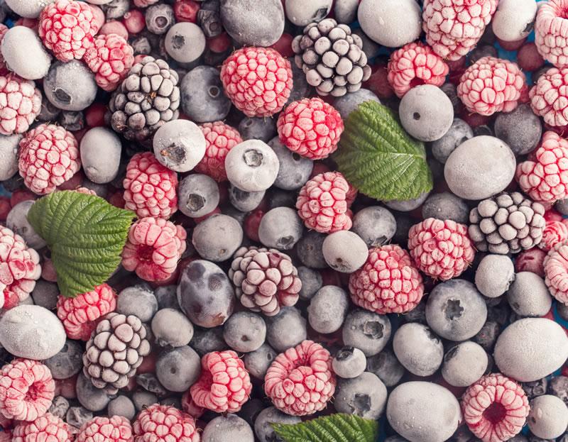 Prodavnica smrznute hrane - zamrznuto voće