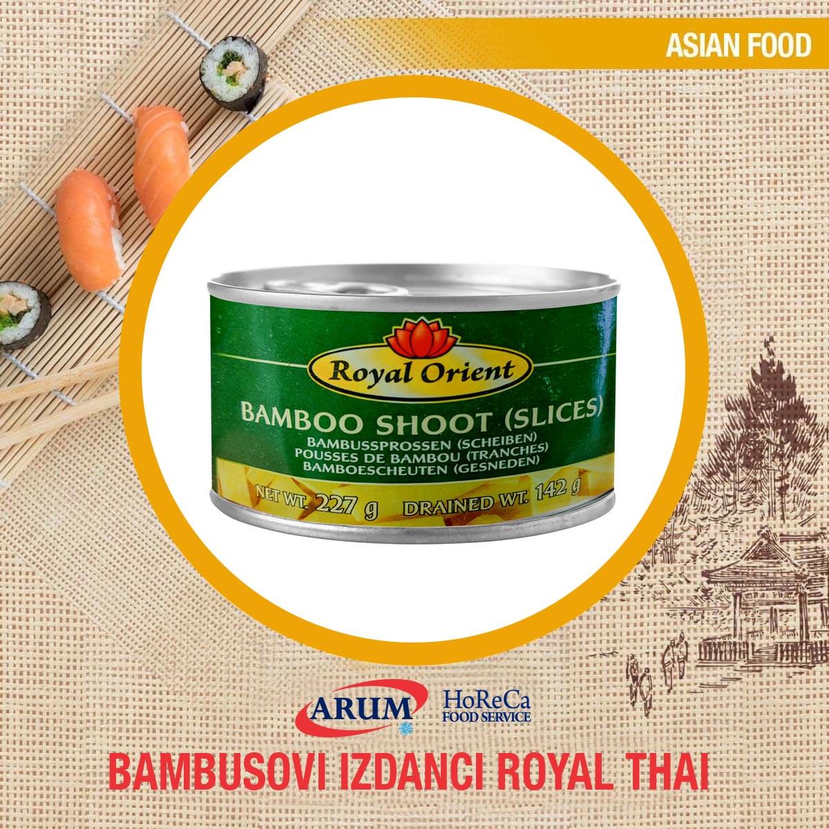 Bambusovi izdanci 540gr royal thai