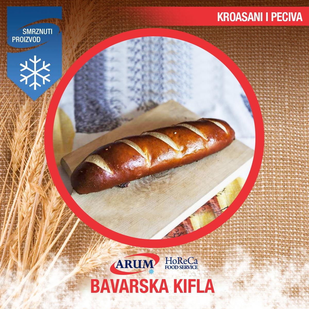 Bavarska kifla 0.100kg  (10/1#)