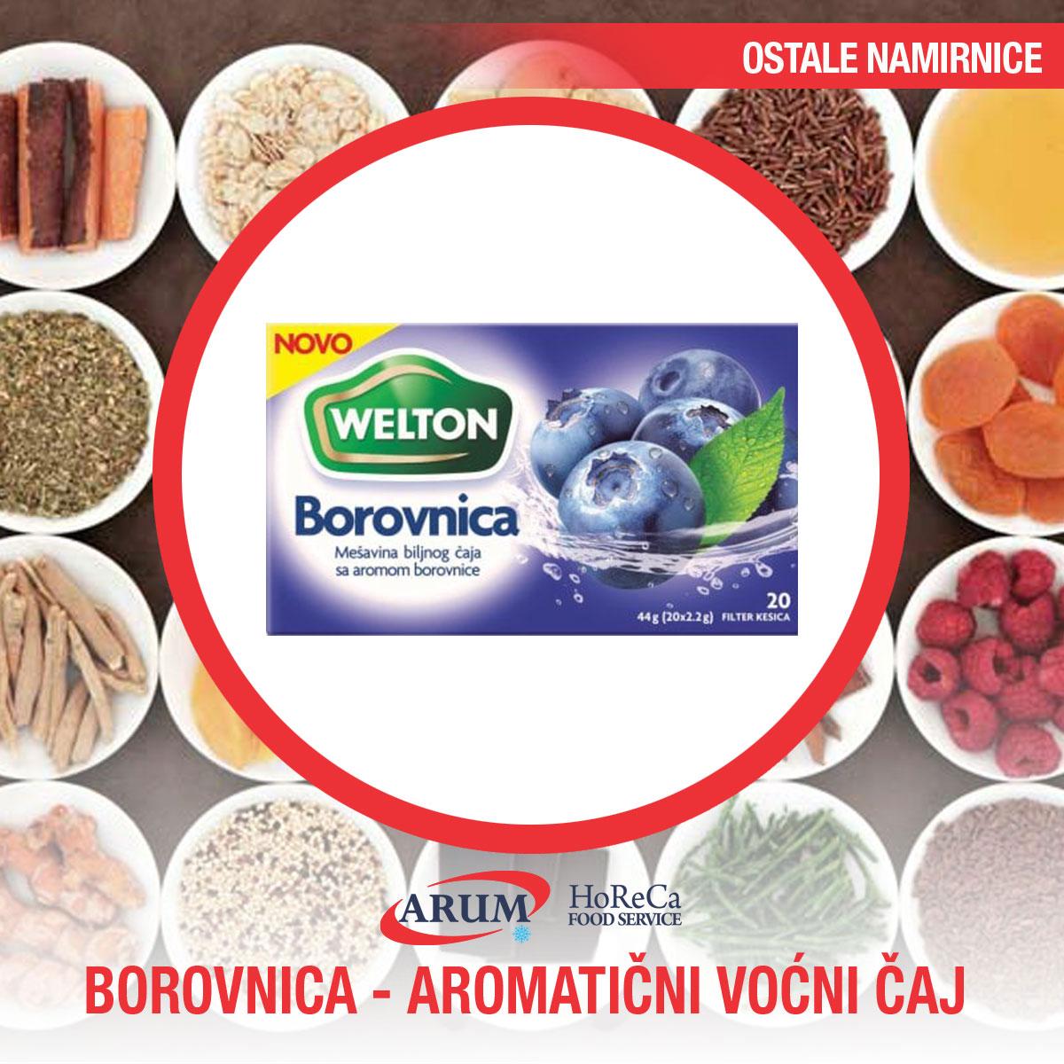 Borovnica-aromaticni vocni caj 44g (12/1#)