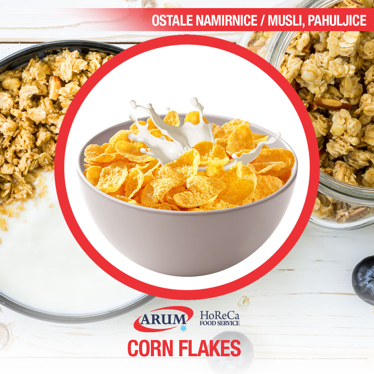 Corn flakes 0.5