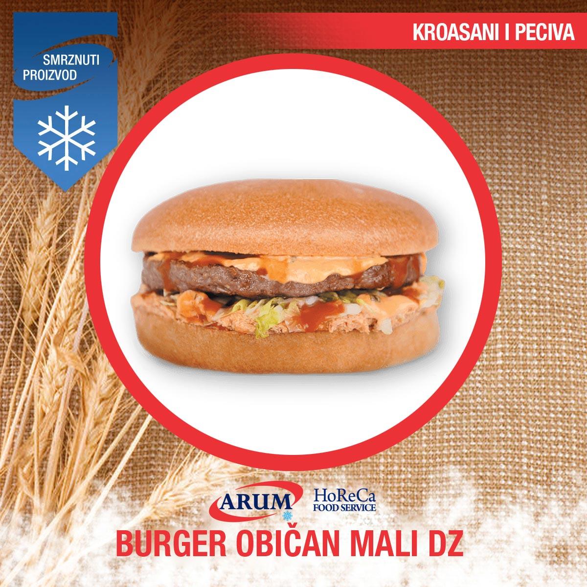 Dz burger obican mali ks 80gr (40/#)