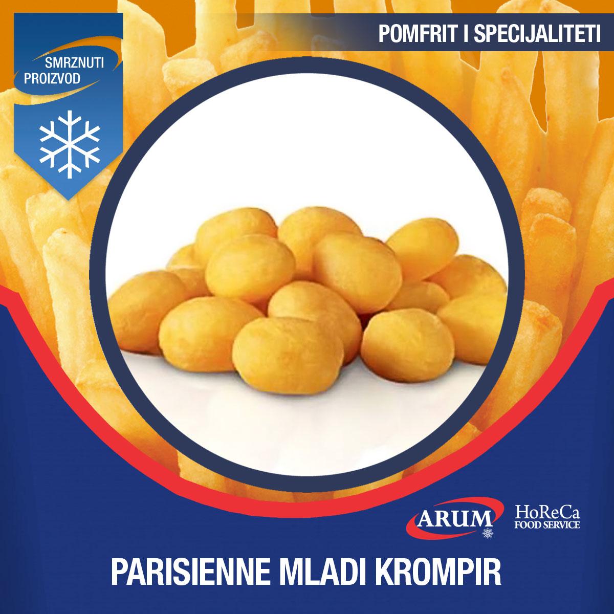 Eco parisienne mladi krompir 2,5 KG