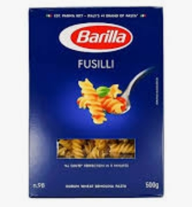 Fusilli barilla 500gr (30/#)