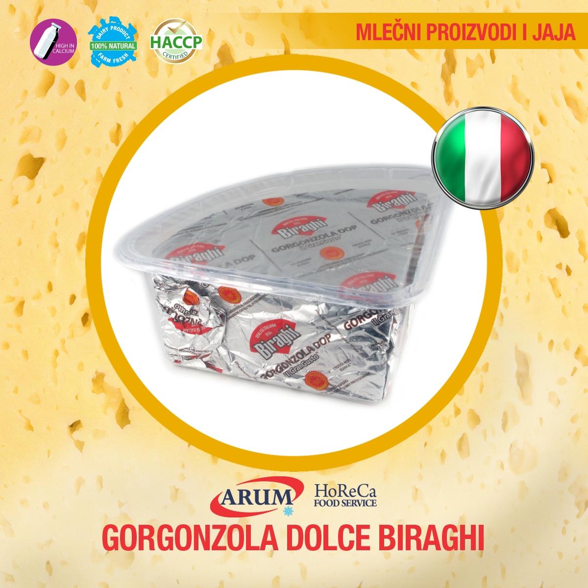 Gorgonzola dolce biraghi