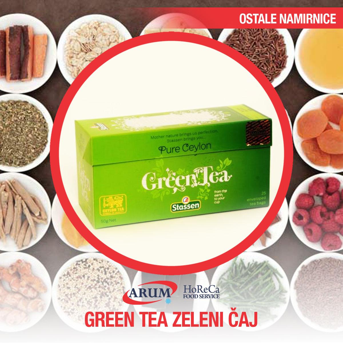 Stassen Green tea - zeleni caj ( kesice 25 kom )