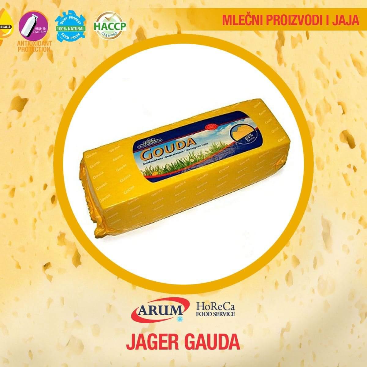 JAGER GAUDA 45% mm cca 2,5kg
