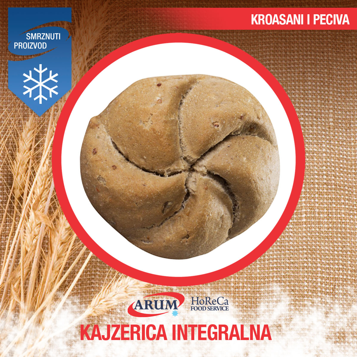Kajzerica integralna 30 g arum 50/1