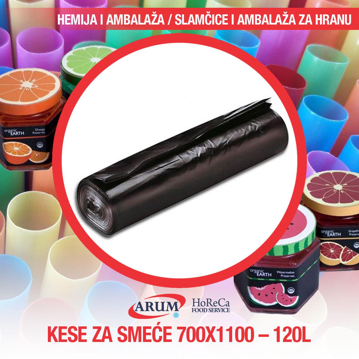 Kese za smece 700*1100 - 120l
