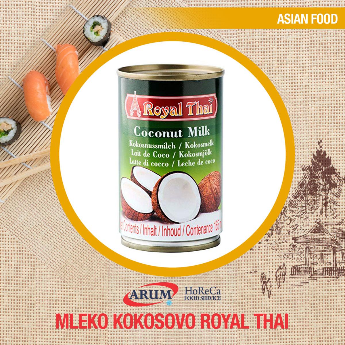 Kokosovo mleko 2900ml royal thai