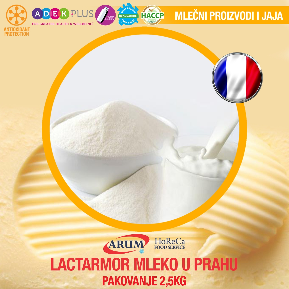 Lactarmor mleko u prahu 2.5 kg