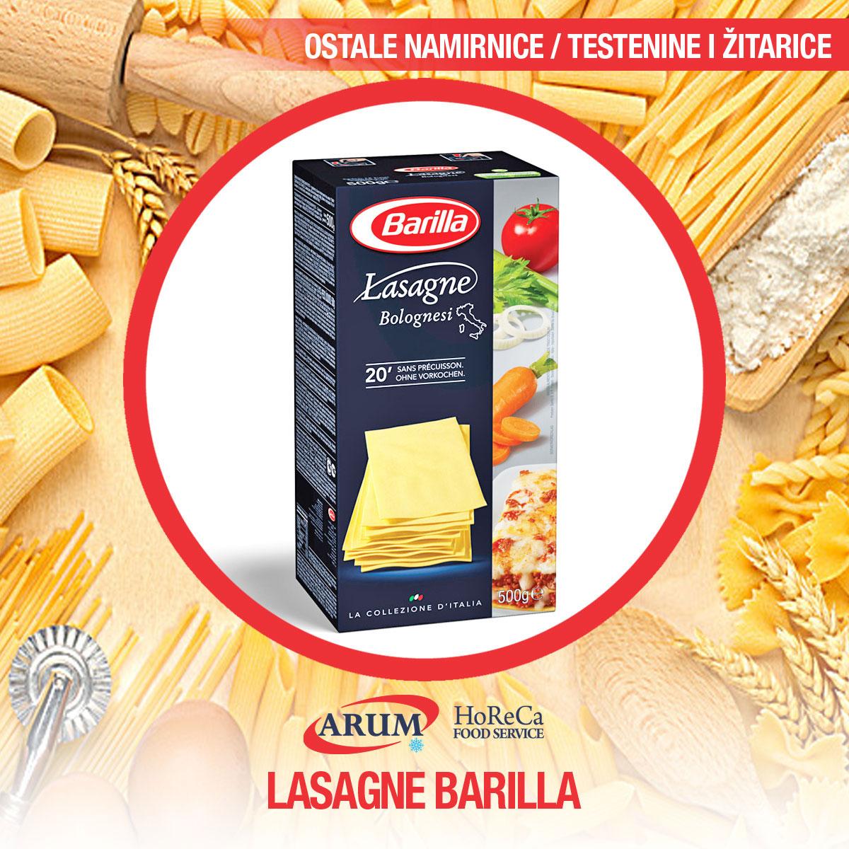Lasagne barilla 500g