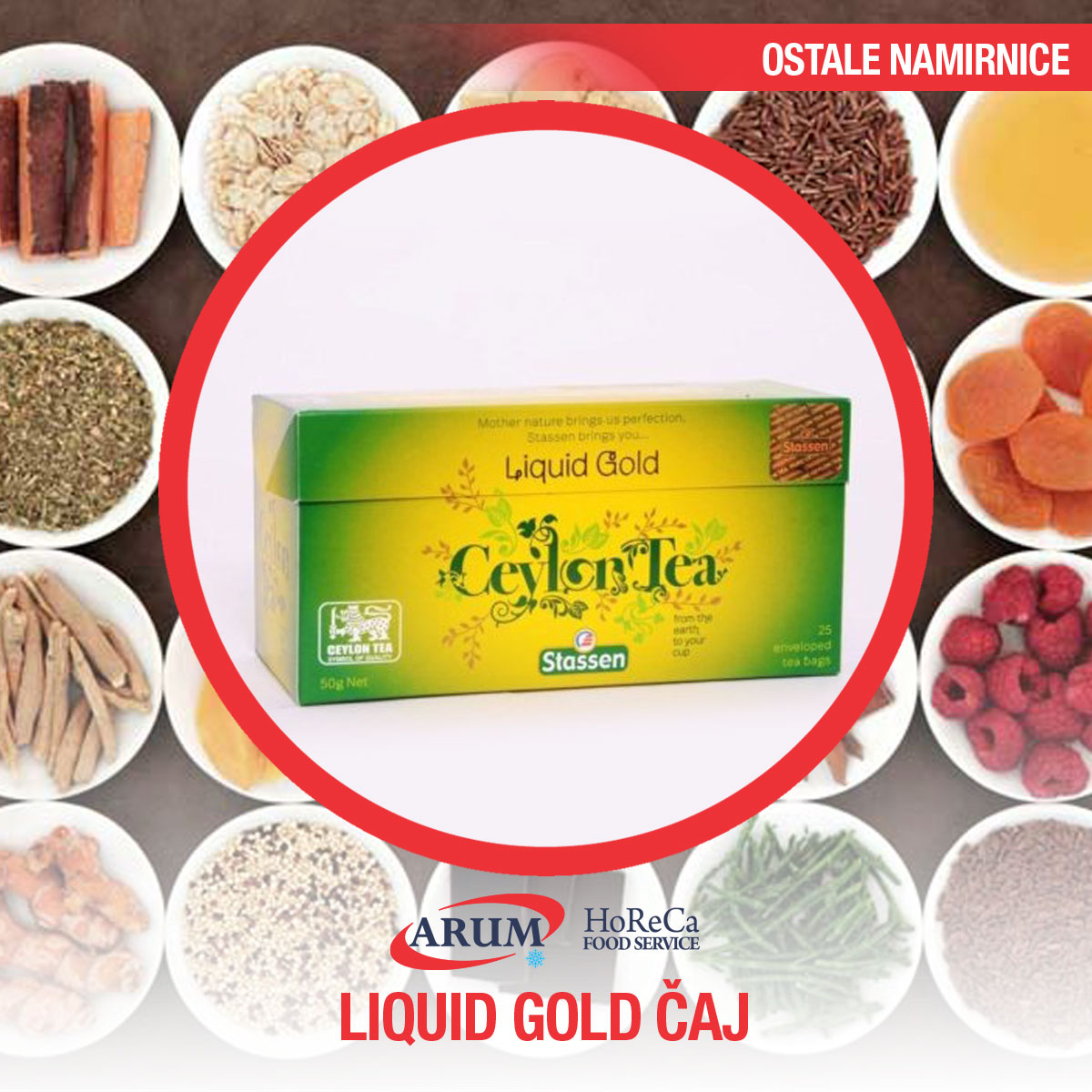 Stassen Liquid gold ( kesice 25 kom)
