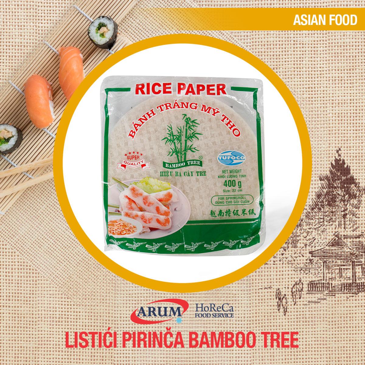 Listici pirinca 400gr-22cm bamboo tree