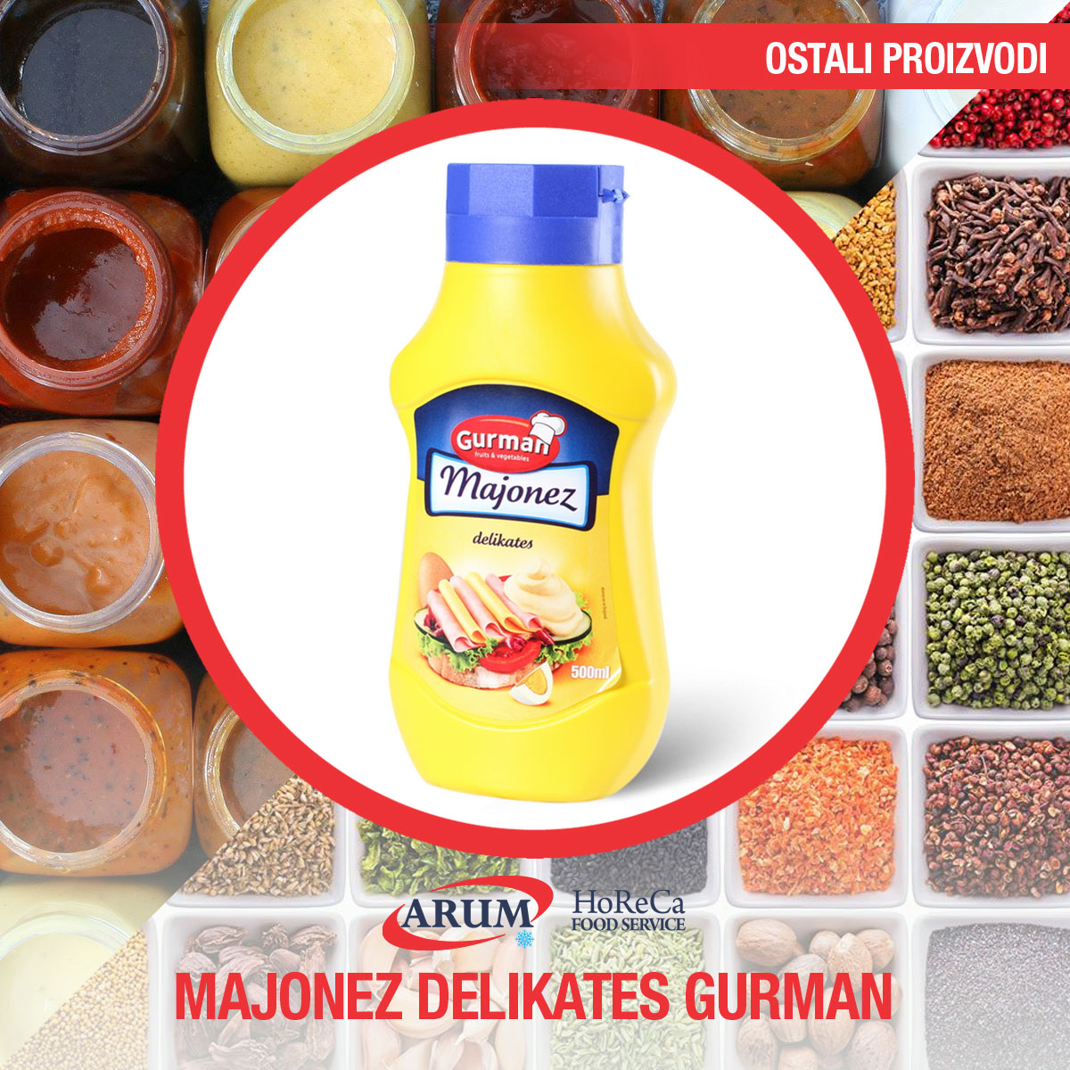 Majonez delikates gurman 5000ml