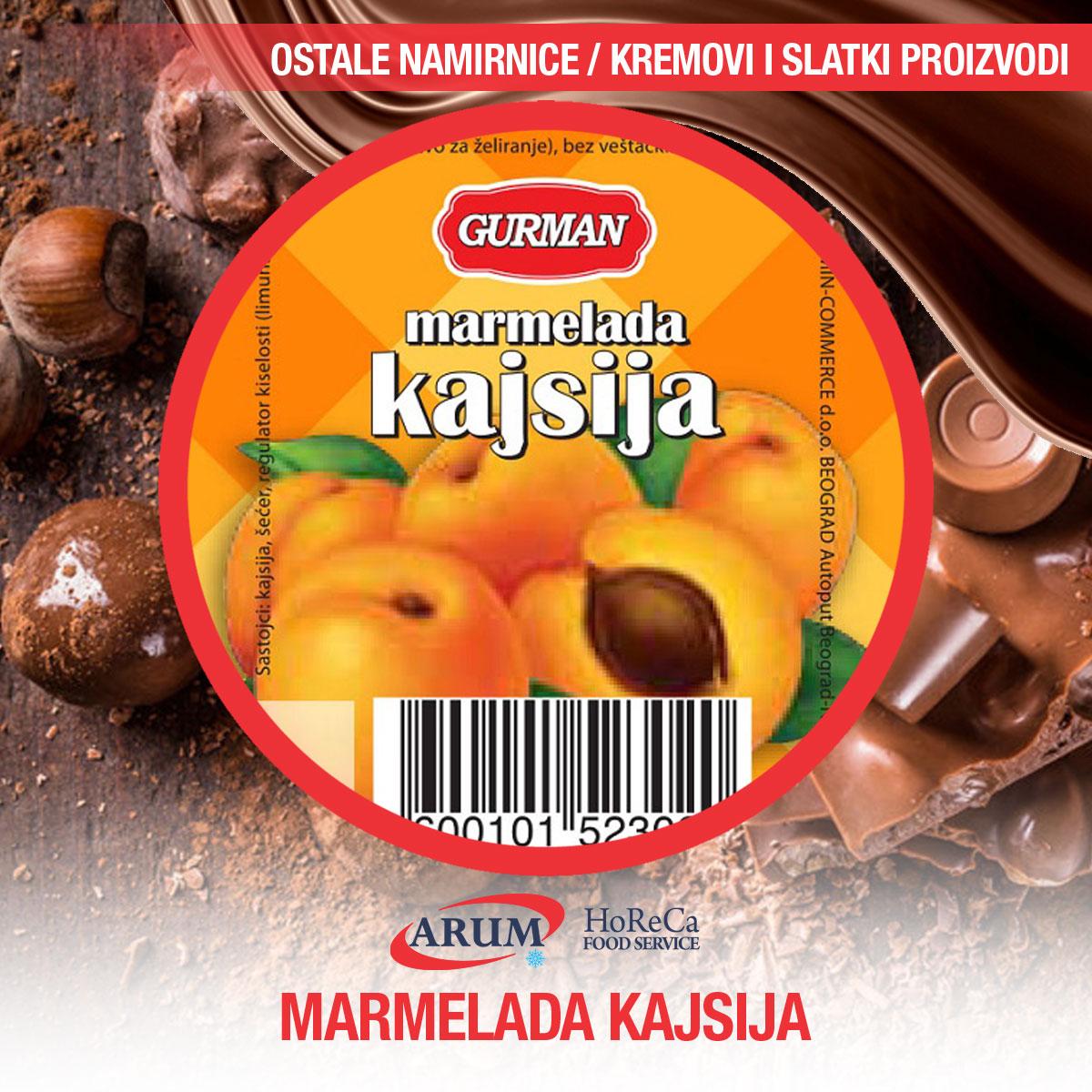 Marmelada kajsija 30g 120/1