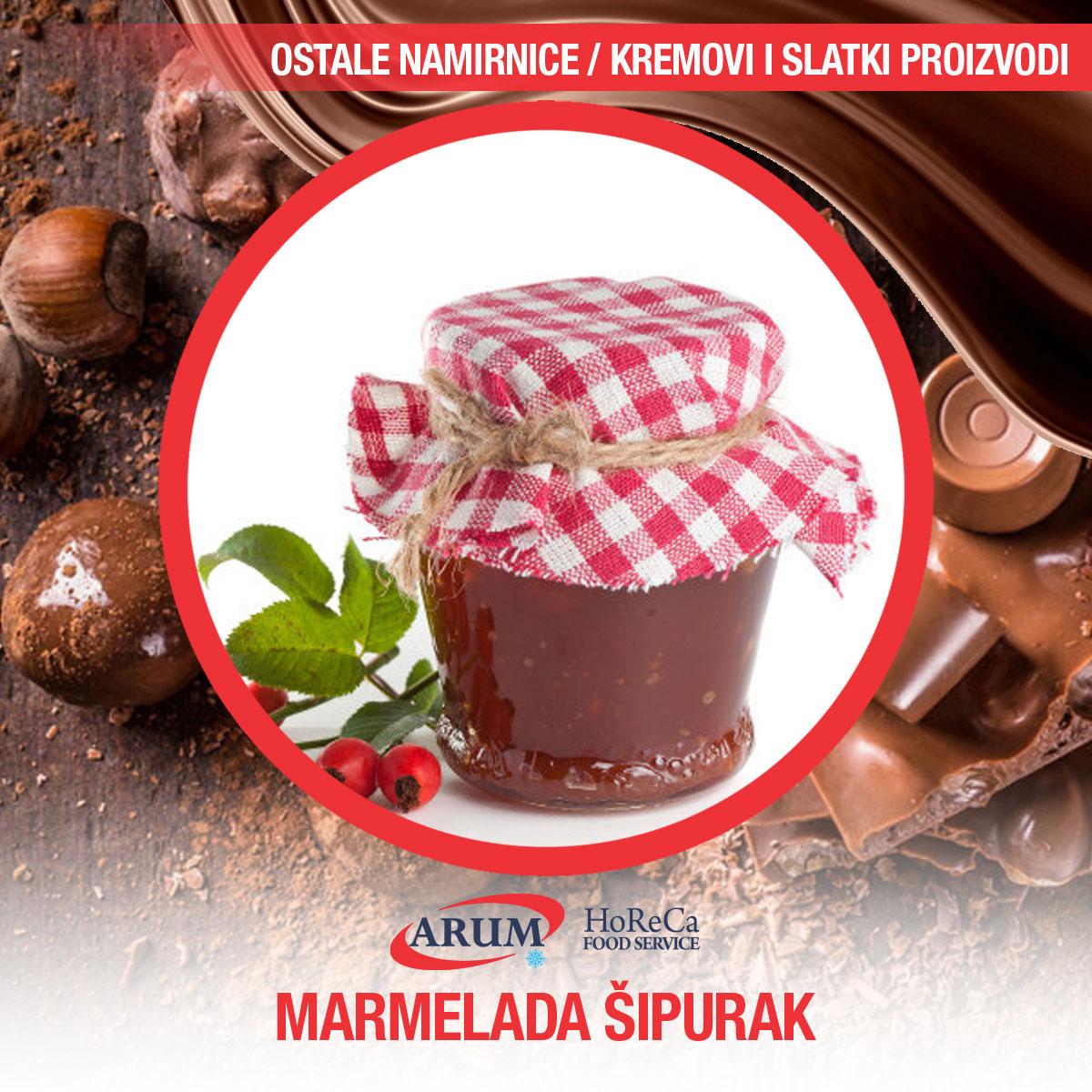 Marmelada sipurak 650gr