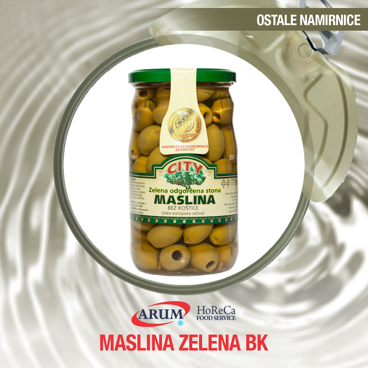 Maslina zelena bk 0.720