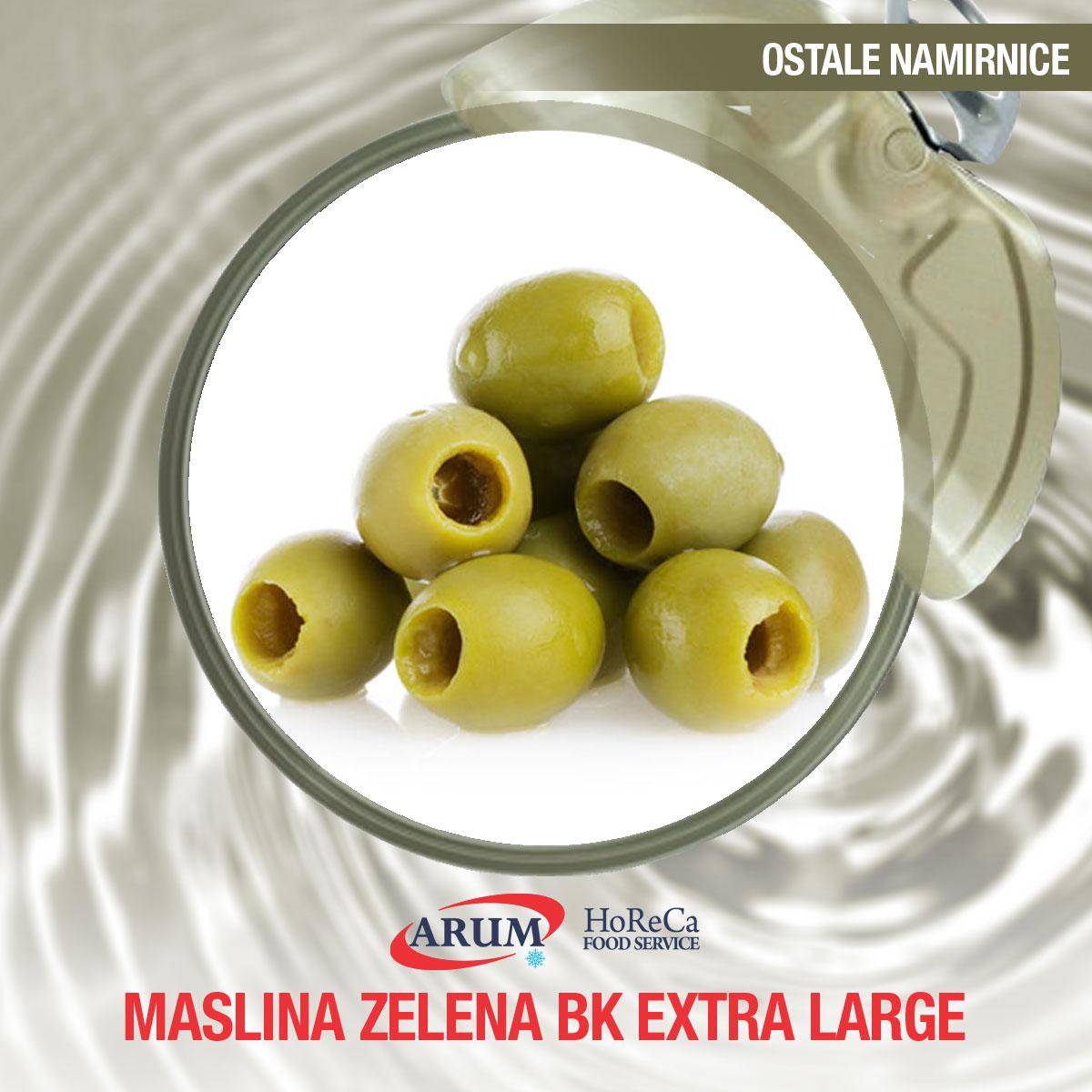 Maslina zelena bk extra large 10 kg