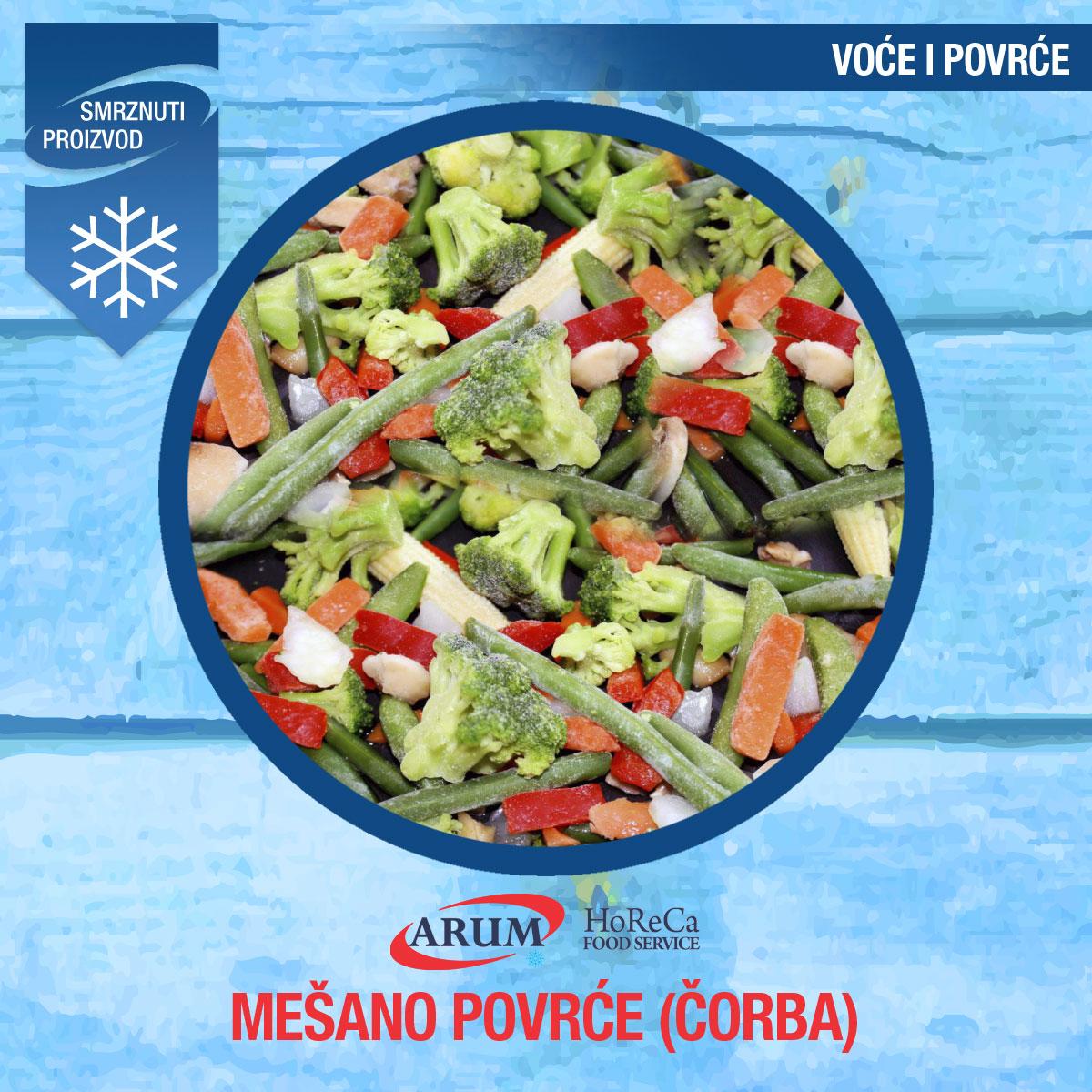 Mesano povrce 10/1 (corba)