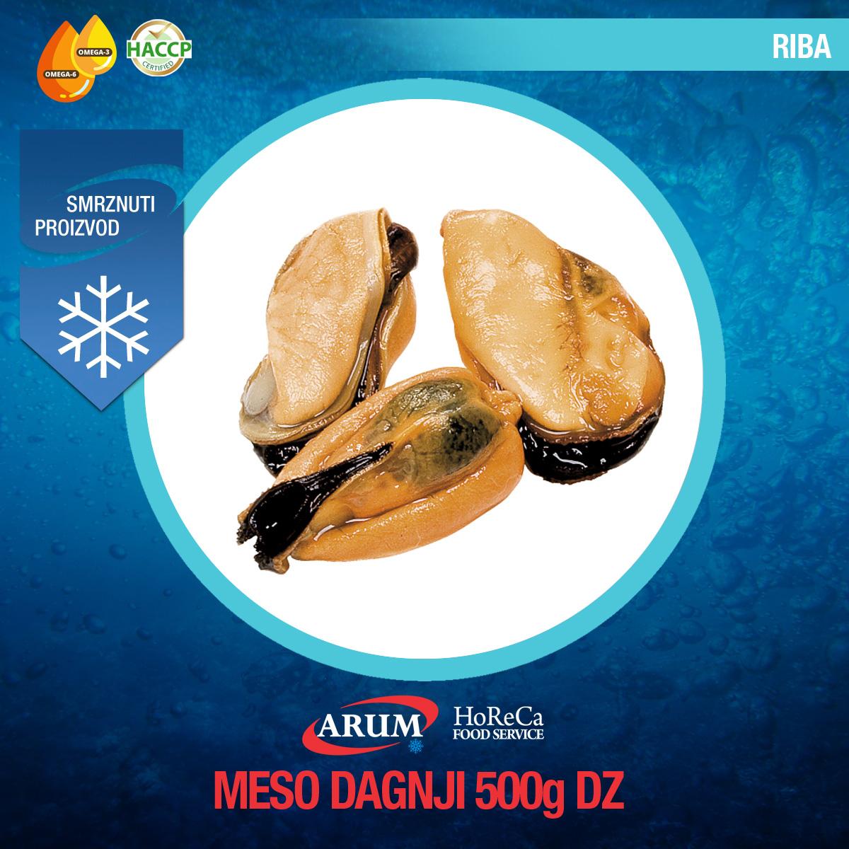 Meso dagnji 500gr