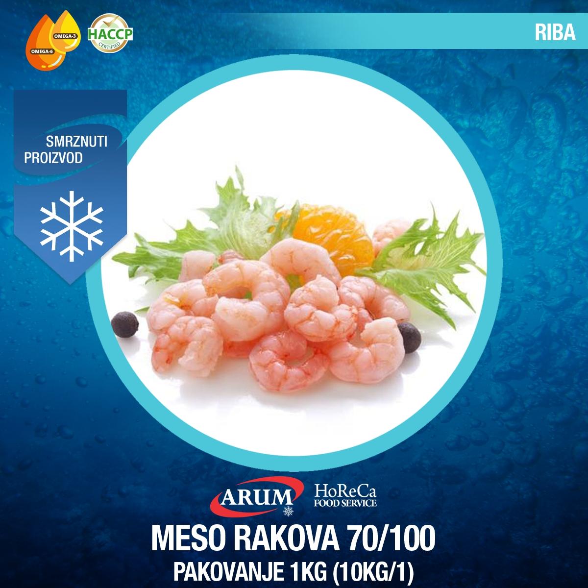 Meso rakova 70/100 1 kg (10kg/1#)