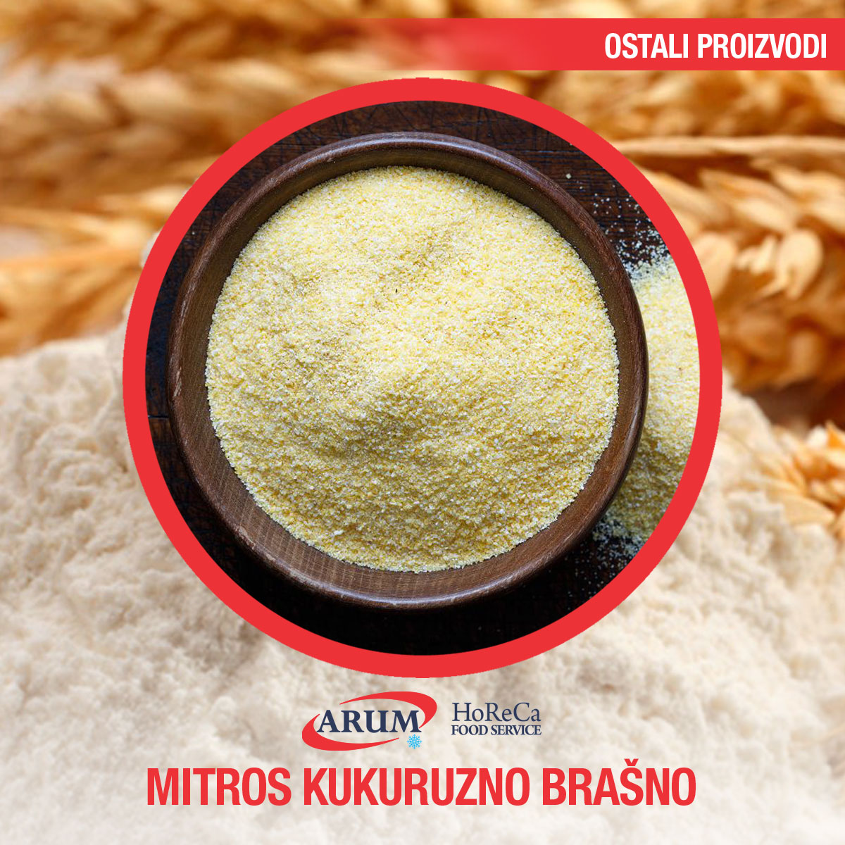Mitros kukuruzno brasno 500g (30/1#)