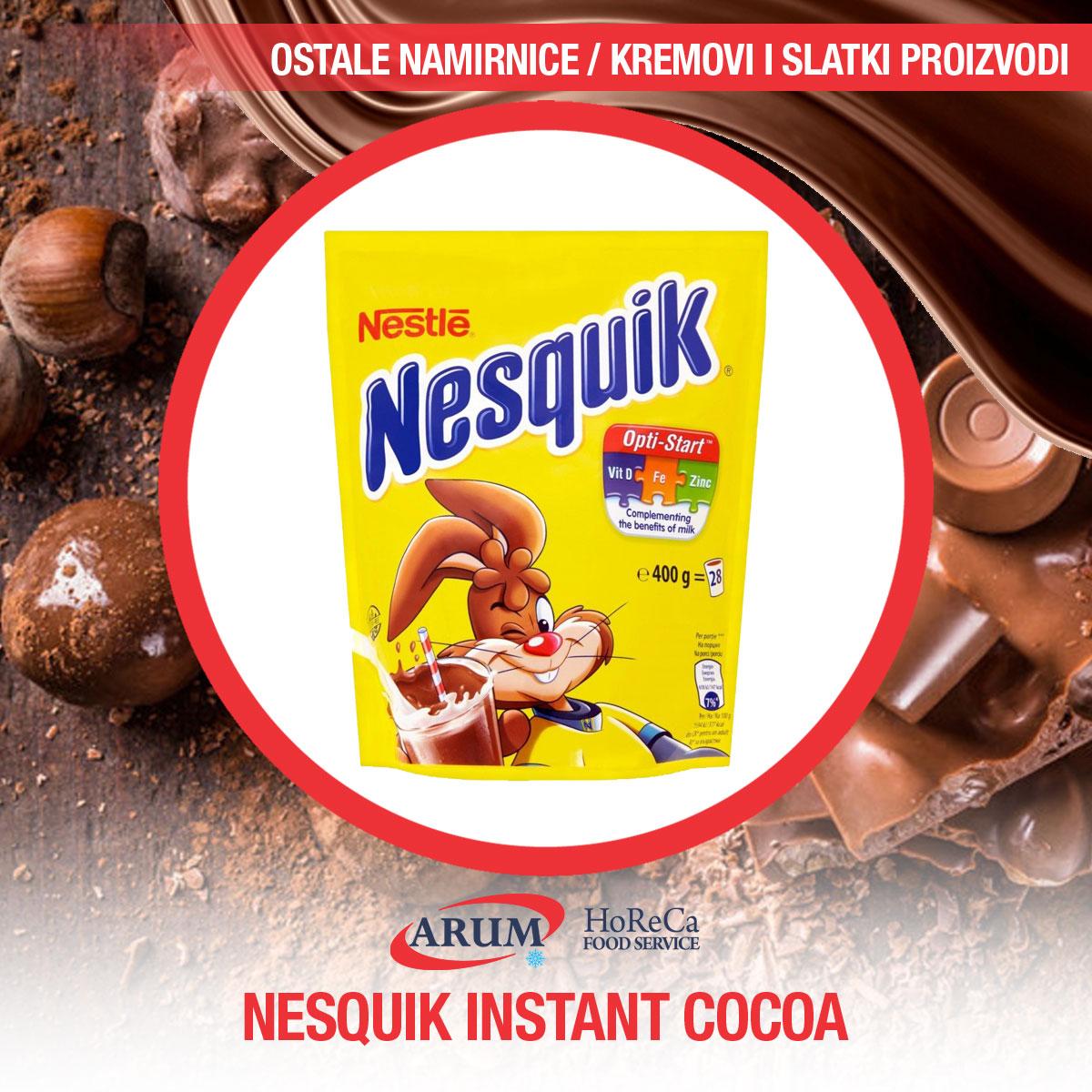 Nesquik instant cocoa 400g