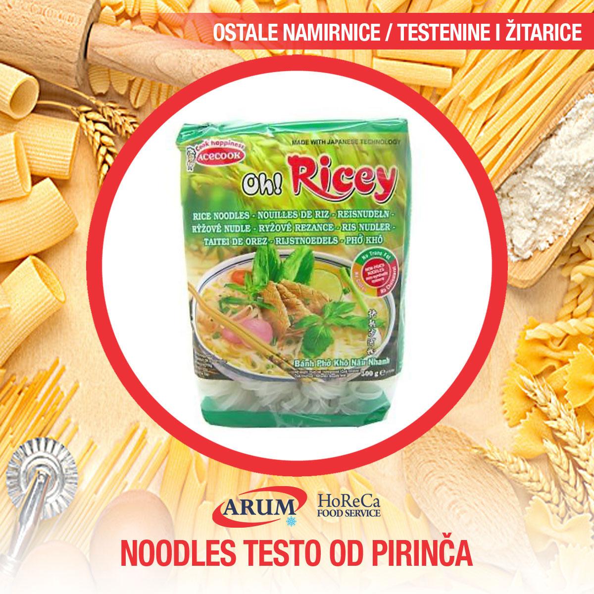 Noodles 200 gr - testo od pirinca