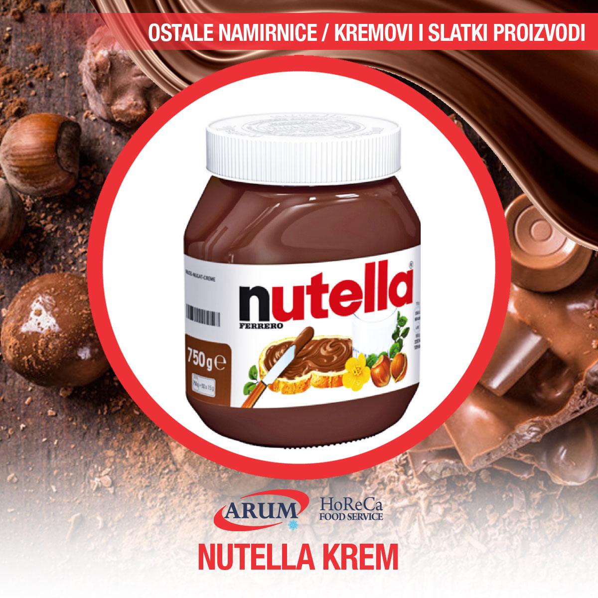Nutella 1kg (6/1#)