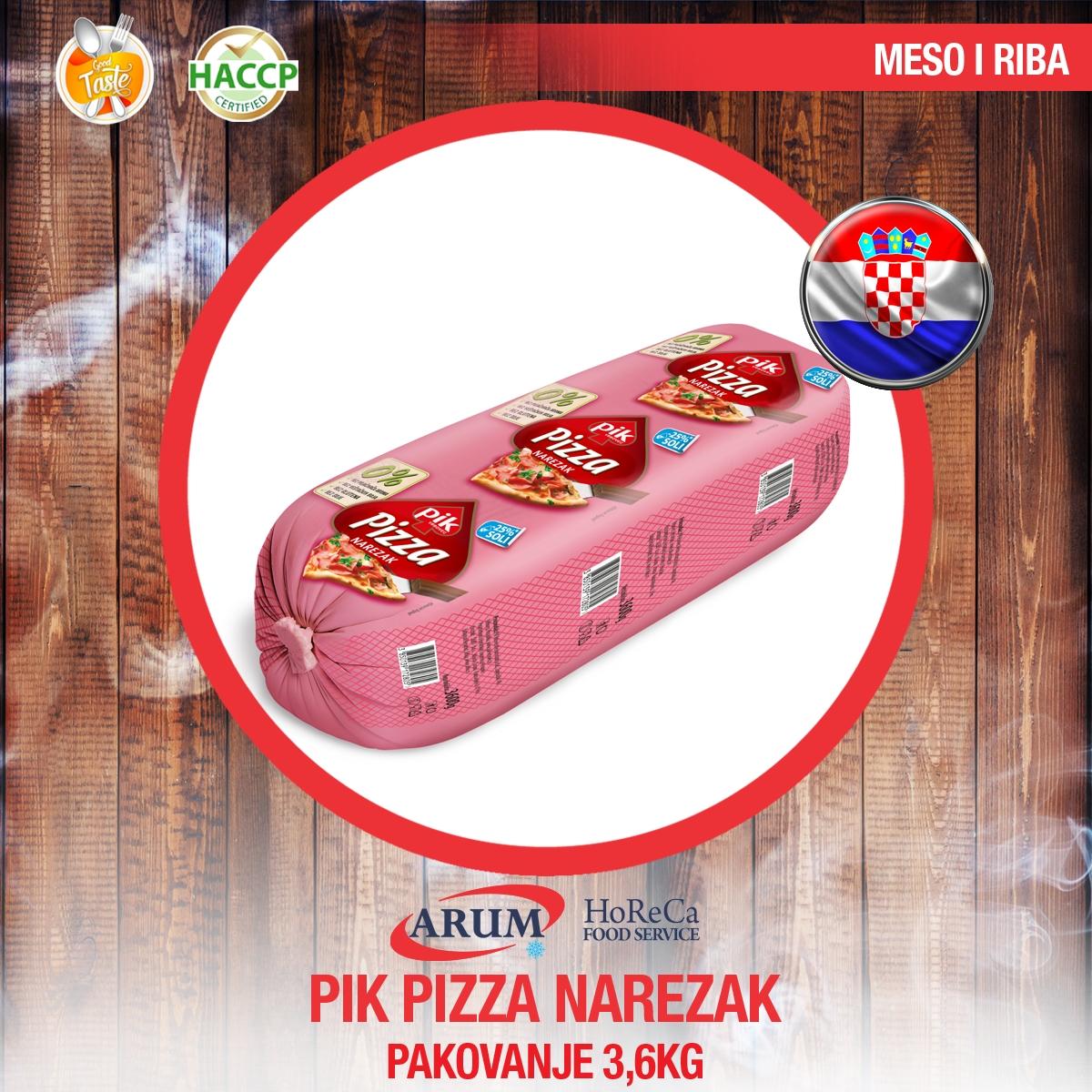 Pik pizza narezak 3,6 kg
