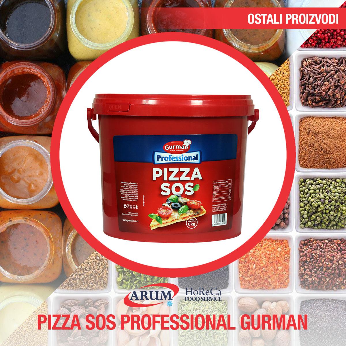 Pizza sos gurman professional 6000gr