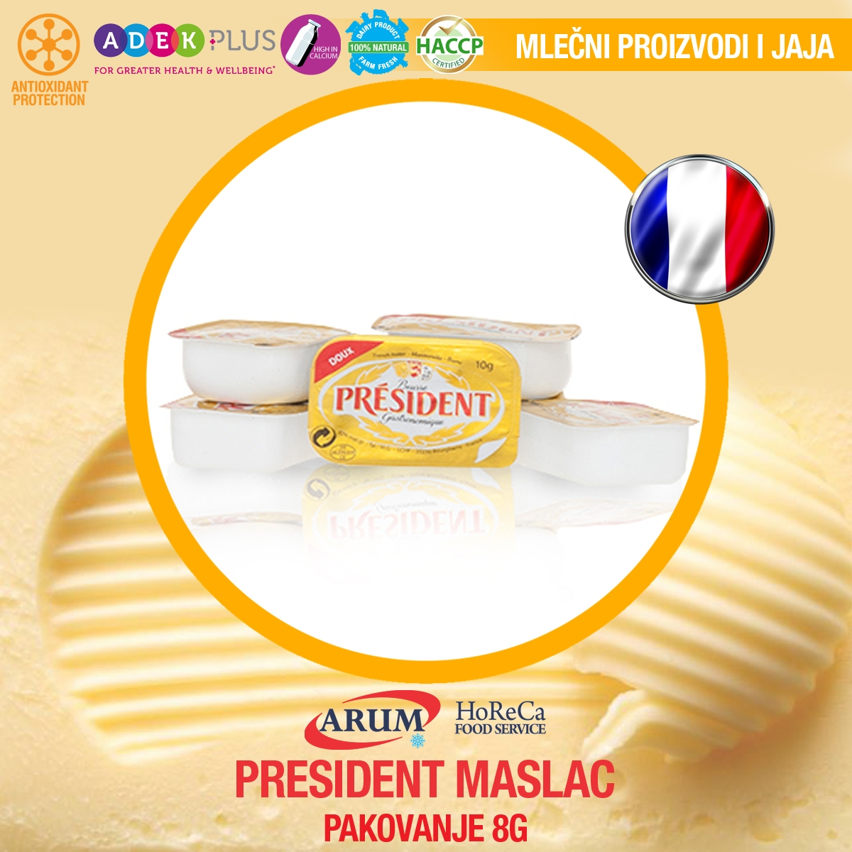 President maslac 8g