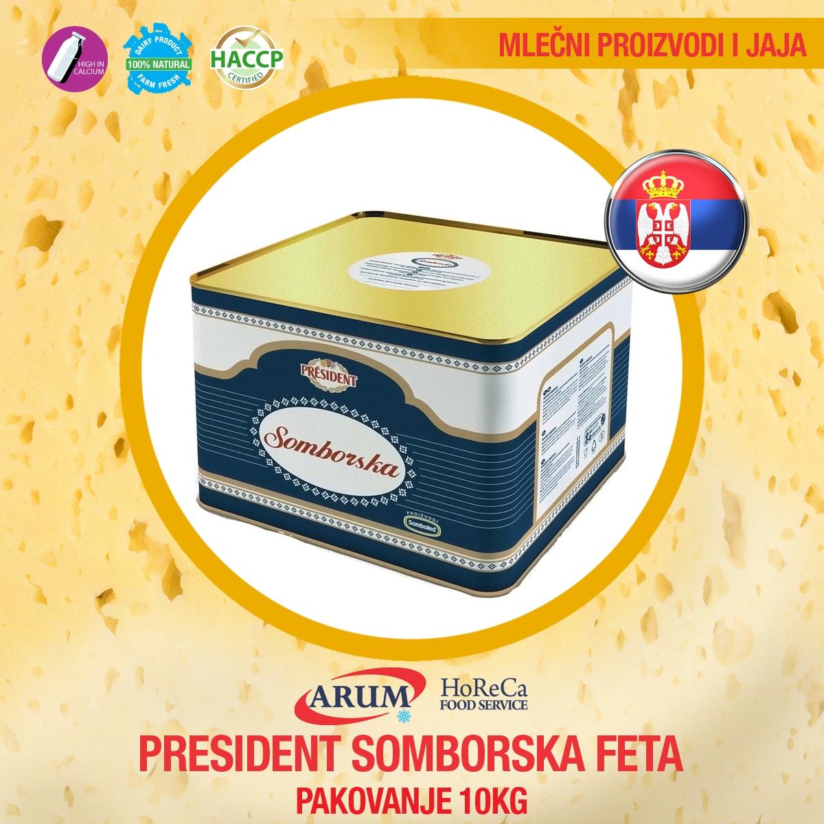 Prezident somborska  feta10 kg