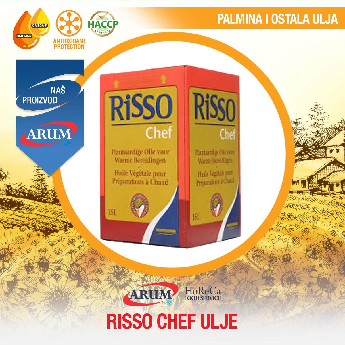 Risso chef ulje 15lit