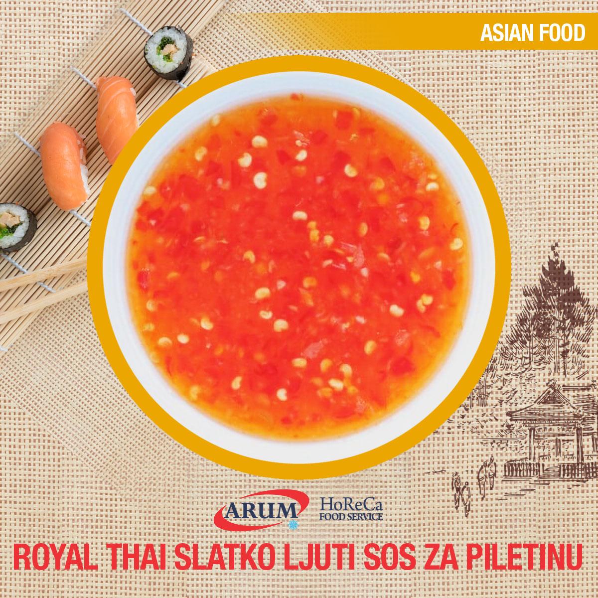 Royal thai slatko ljuti sos za piletinu 5l