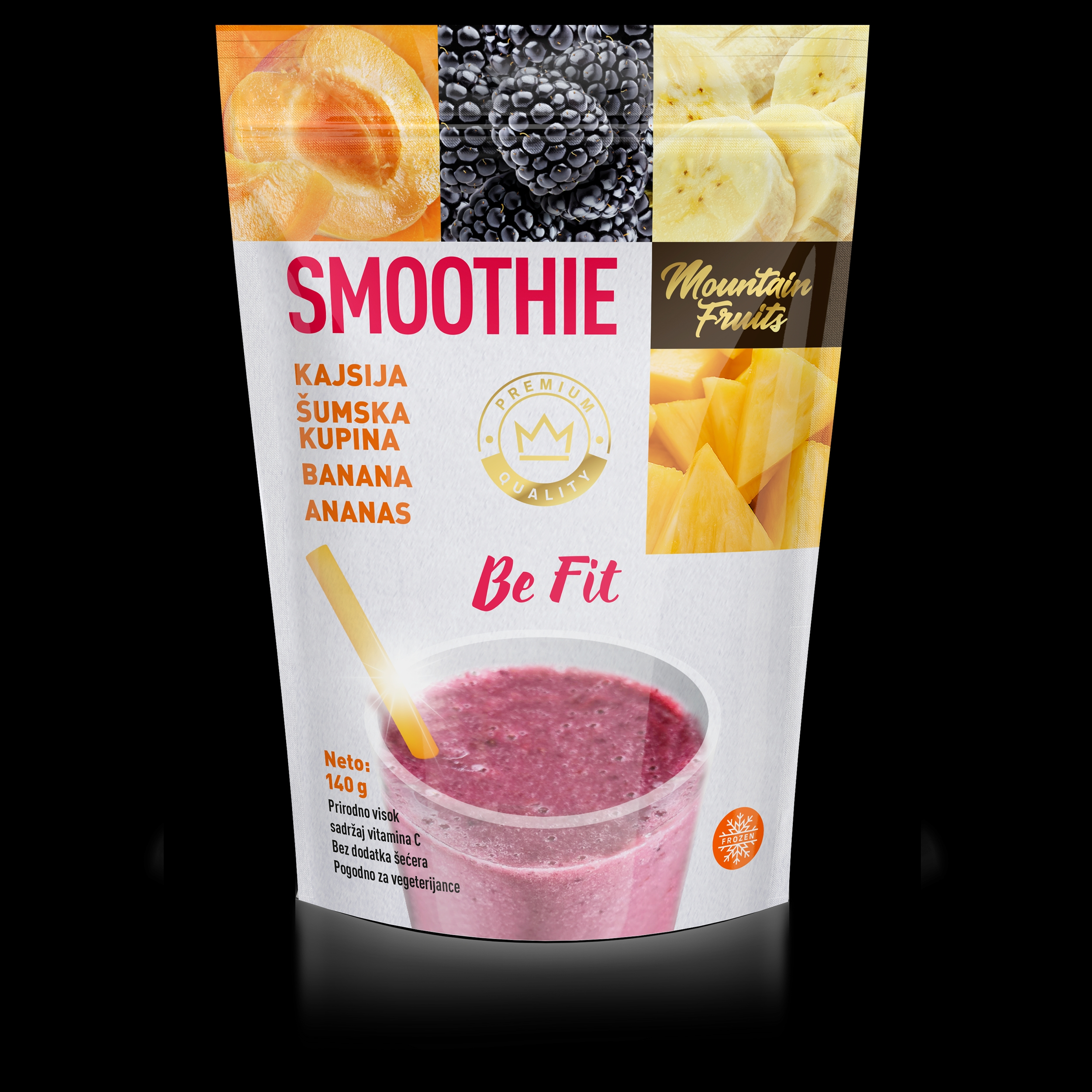 Smoothie be fit 140gr (40/#)