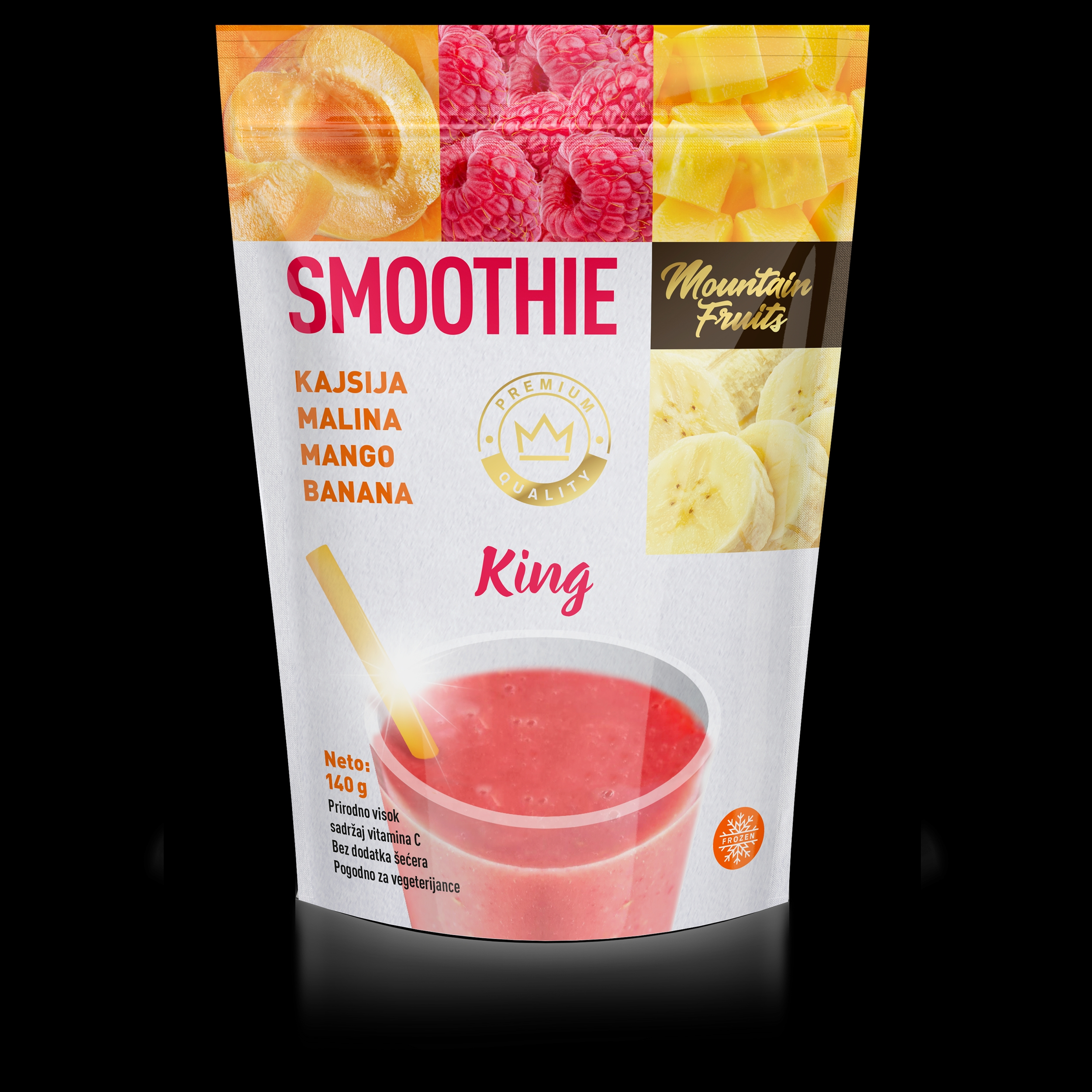 Smoothie king 140gr (40/#)