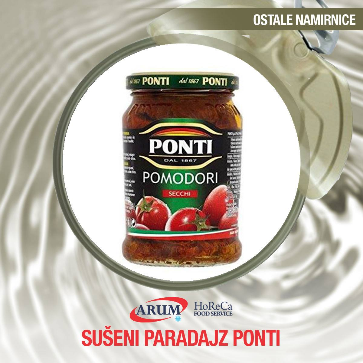 Suseni paradajz 1700ml
