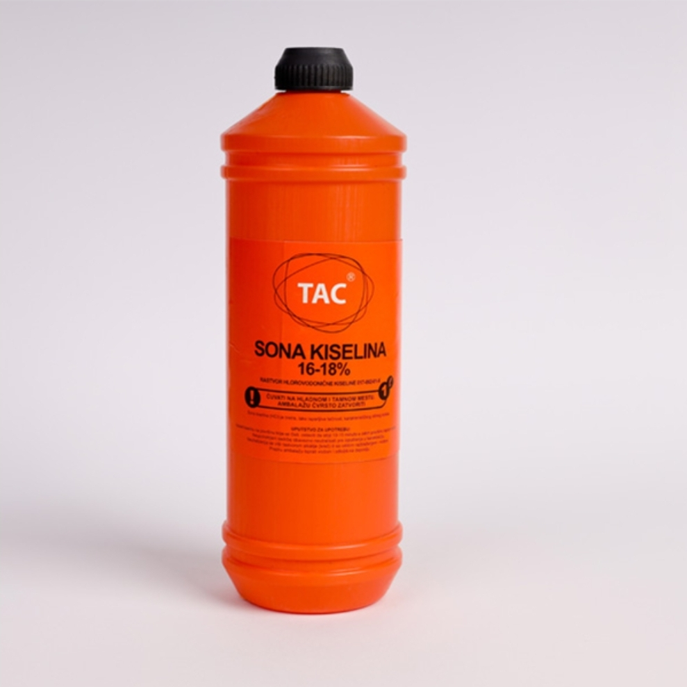 Tac - sona kiselina 16-18% 1l