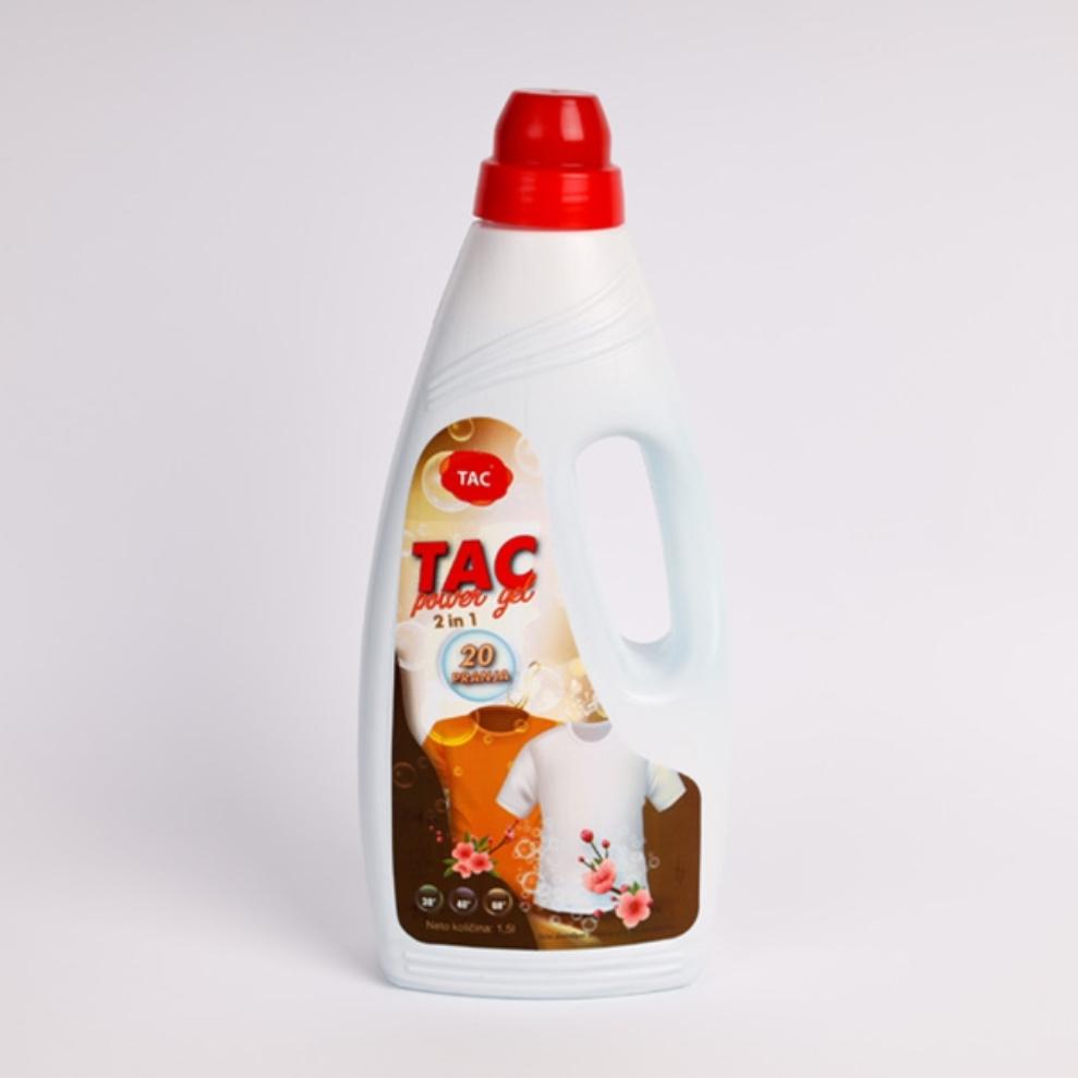 TAC POWER GEL  1.5 l ( tecni deterdzent za ves)