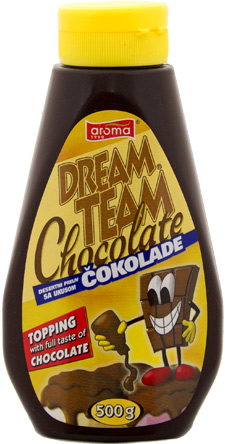 Toping cokolada 1000gr aroma