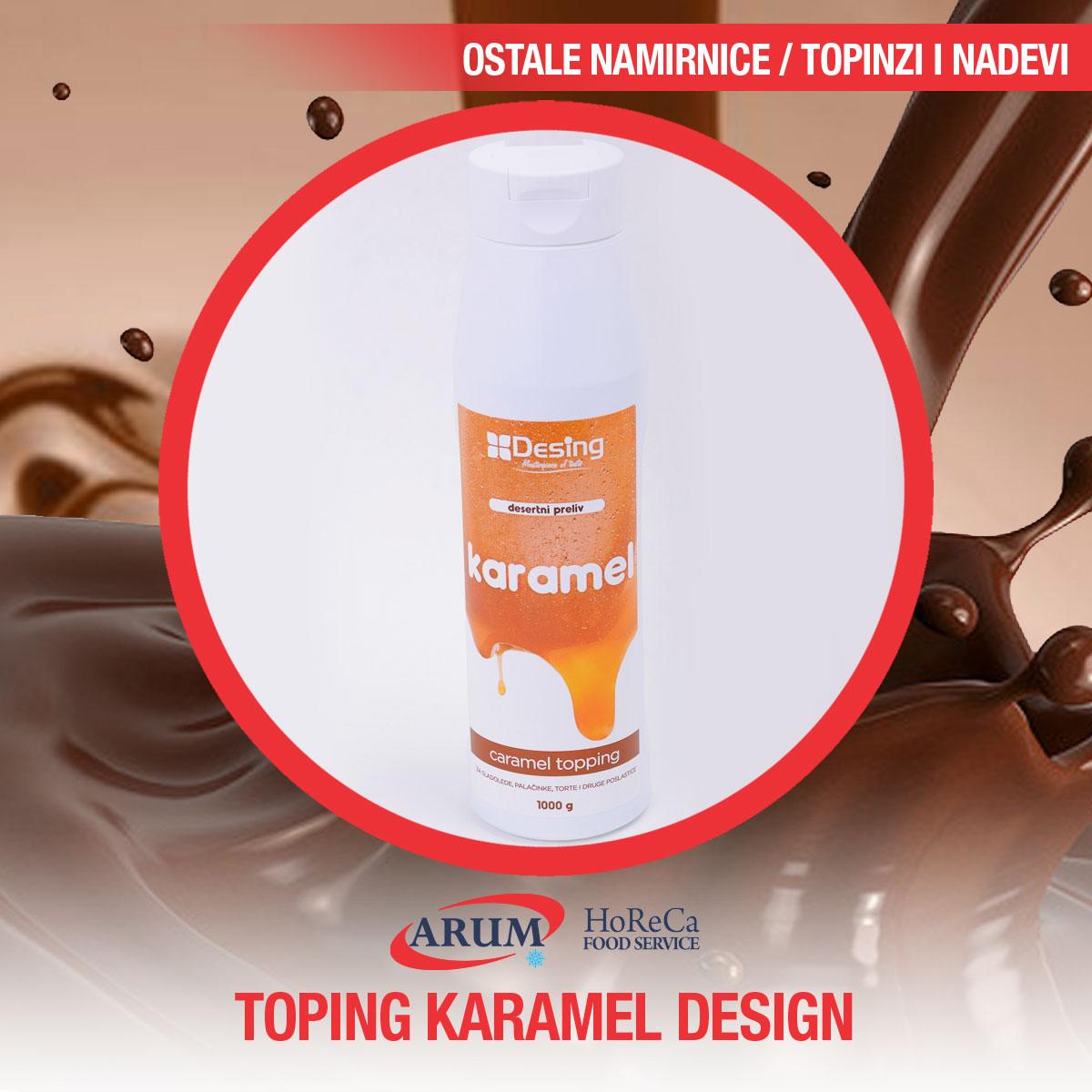 Toping karamel 1kg desing