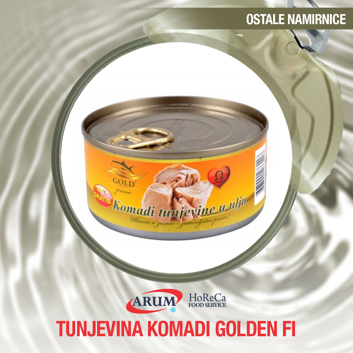 Tunjevina komadi golden fi 170gr