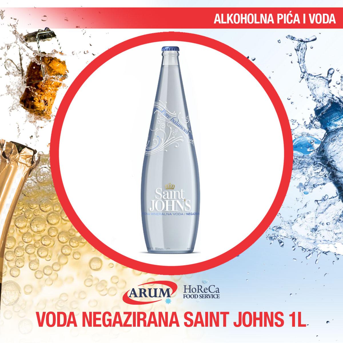 Voda negazirana 1l saint john's (6/1#)