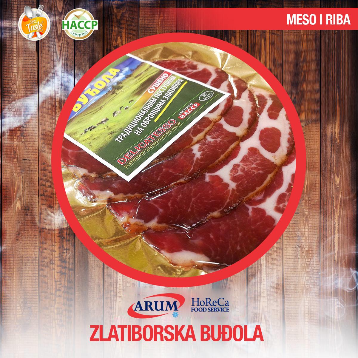 Zlatiborska budjola 250g slice (10/#)