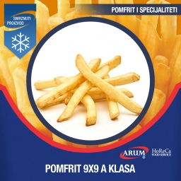 Agf 9x9 pomfrit professional- a 4x2.5 kg