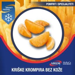 Agf kriske krompira bez koze-a 4x2.5kg