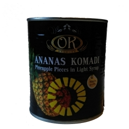 Ananas kocka 565g
