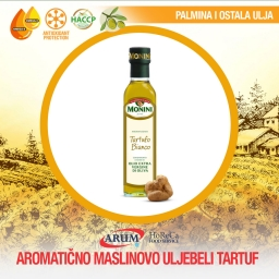 Aromaticno masl. ulje beli tartufi 0.25l monini + 1 gratis crni tartufi